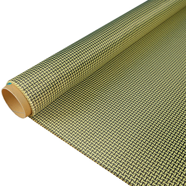 Углеарамидный микс 188 г/м², плейн / Carbon/Aramid fabric 188 g/m²