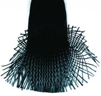 Карбоновый оплеточный рукав Ø 60 мм. / Carbon fibre braided sleeve Ø 60 mm