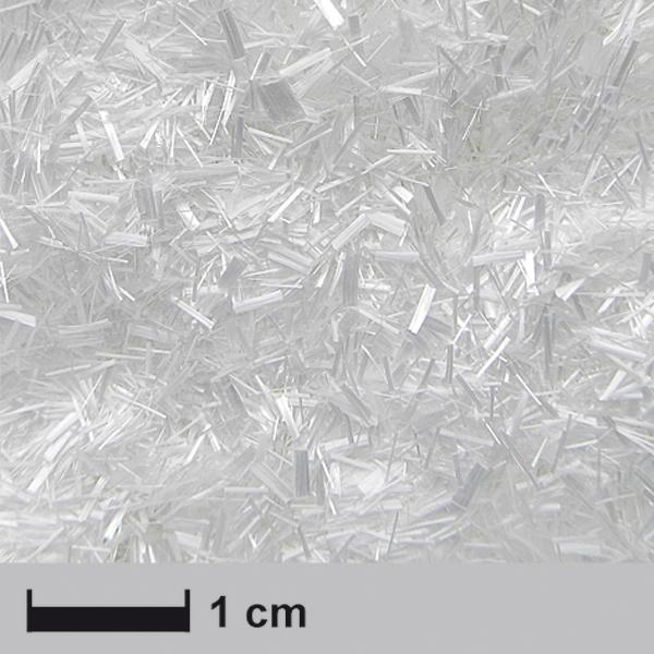 Рубленые нити стекловолокна 3 мм / Chopped glass fibre strands 3 mm