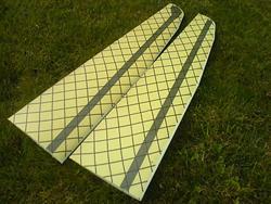 Арамидная ткань с карбоновой сеткой 40 г/м², плейн / Aramid-/Carbon-mesh fabric 40 g/m²
