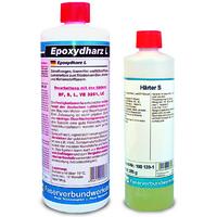 Эпоксидная смола L + отвердитель S, (15 мин), набор из двух компонентов. / Epoxy resin L + Hardener S