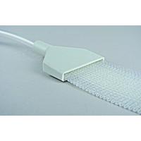 Разъем под сетчатую ленту для эвакуации воздуха и инжекции смолы / Resin connector for resin/air flow duct
