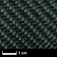 Углеткань (карбон) 200 г/м², твилл, 100 см. / Carbon fabric 200 g/m², 100 cm