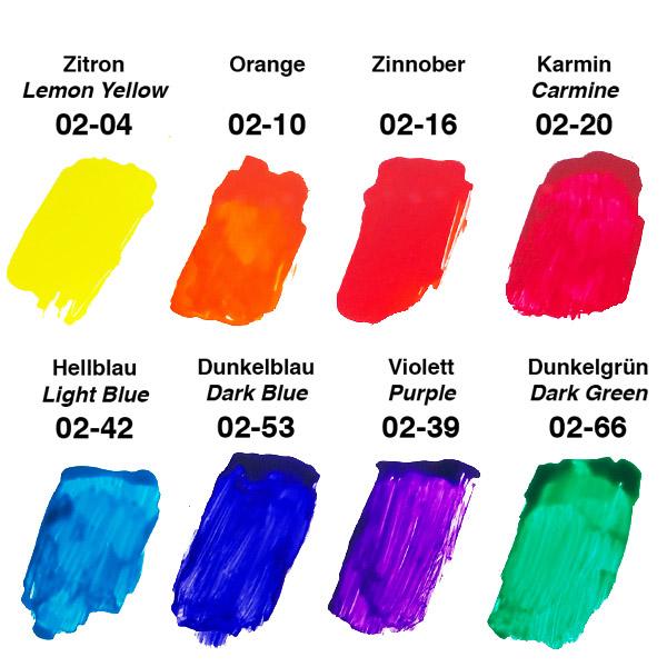 Прозрачные цветовые добавки