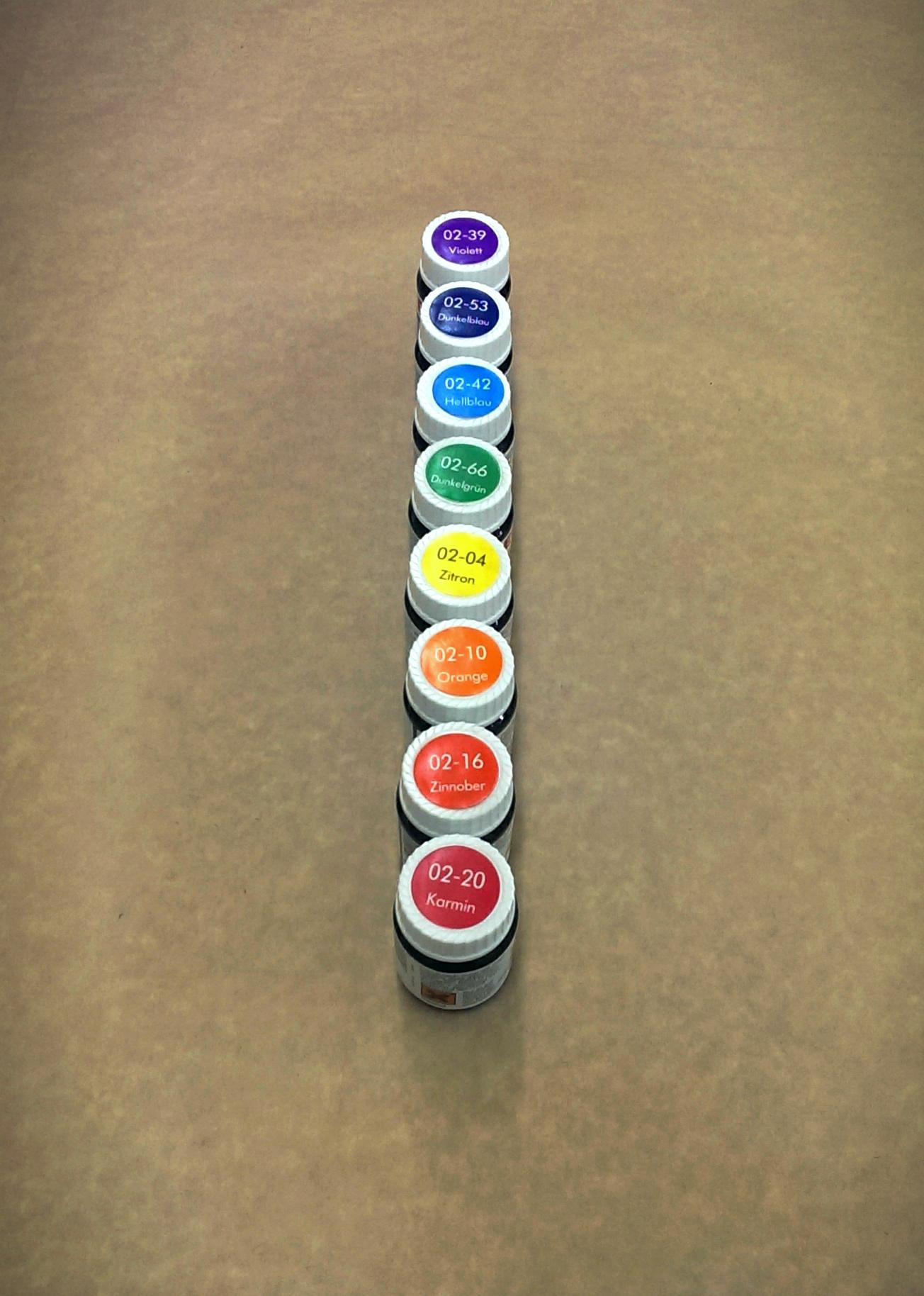 Прозрачные цветовые добавки / Transparent colours