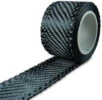 Углелента 204 г/м², ширина 35 мм / Carbon fabric tape 204 g/m², 35 mm