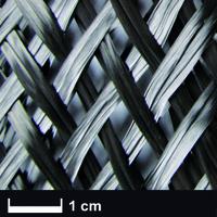 Карбоновый оплеточный рукав Ø 255 мм, 406 г/м² / Carbon fibre sleeve Ø 255 mm, 406 g/m²