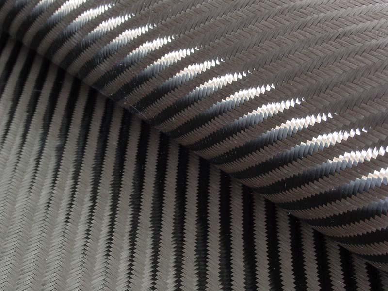 Углеткань (карбон) 280 г/м², твилл 4/4 / Carbon fabric 280 g/m², twill 4/4