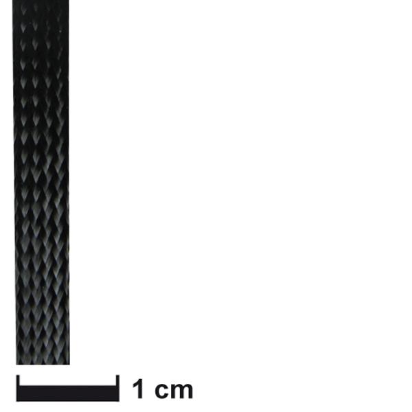 Карбоновый оплеточный рукав Ø 5 мм. / Carbon fibre braided sleeve Ø 5 mm