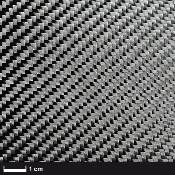 Углеткань (карбон) 245 г/м², твилл 150 см Аэро