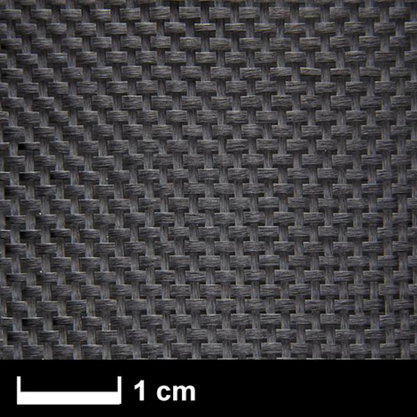 Углеткань АЭРО (карбон) 93 г/м², плейн, 100 см