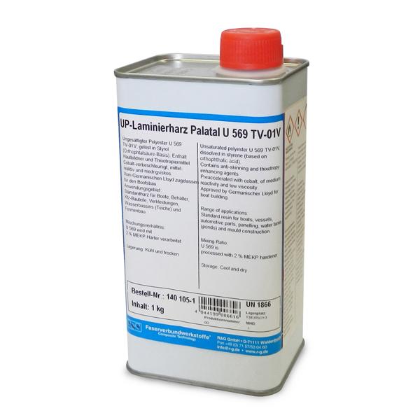 Полиэстеровая смола / UP Laminating resin Palatal U 569 TV-01