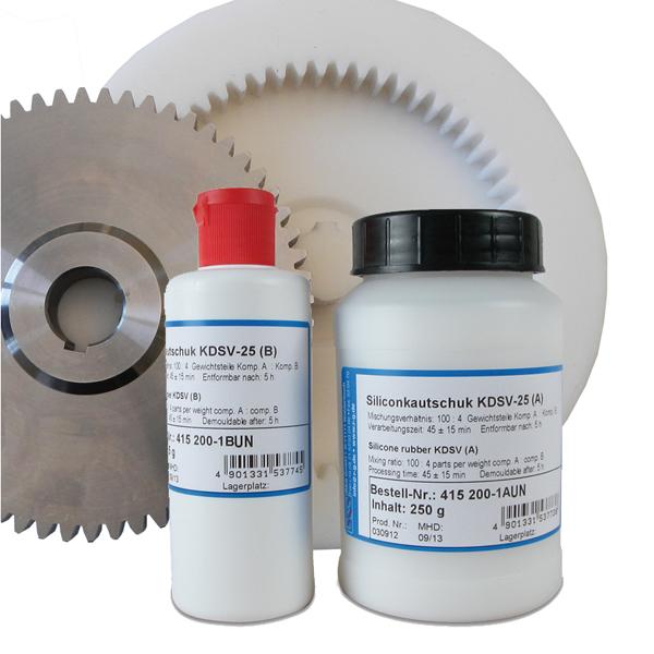 Силиконовая резина KDSV-25 (набор из двух компонентов)