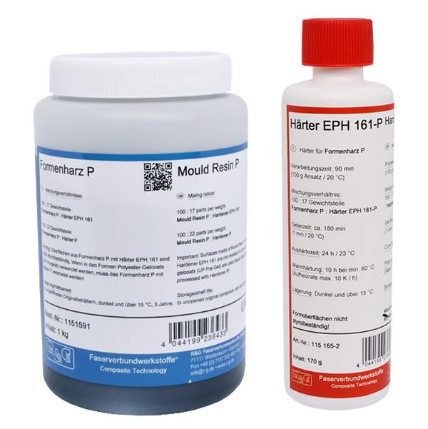 Эпоксидный матричный гелькоут P + отвердитель EPH 161 /120° С/ (90 мин)