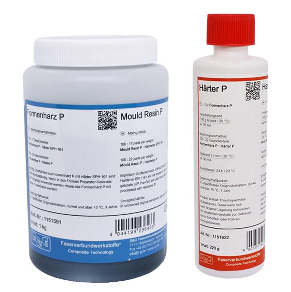 Эпоксидный матричный гелькоут P + отвердитель P /70° C/ (30 мин)