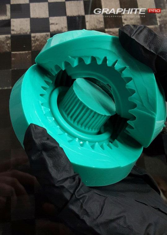 Силиконовая резина зелёная для форм Lasil-С
