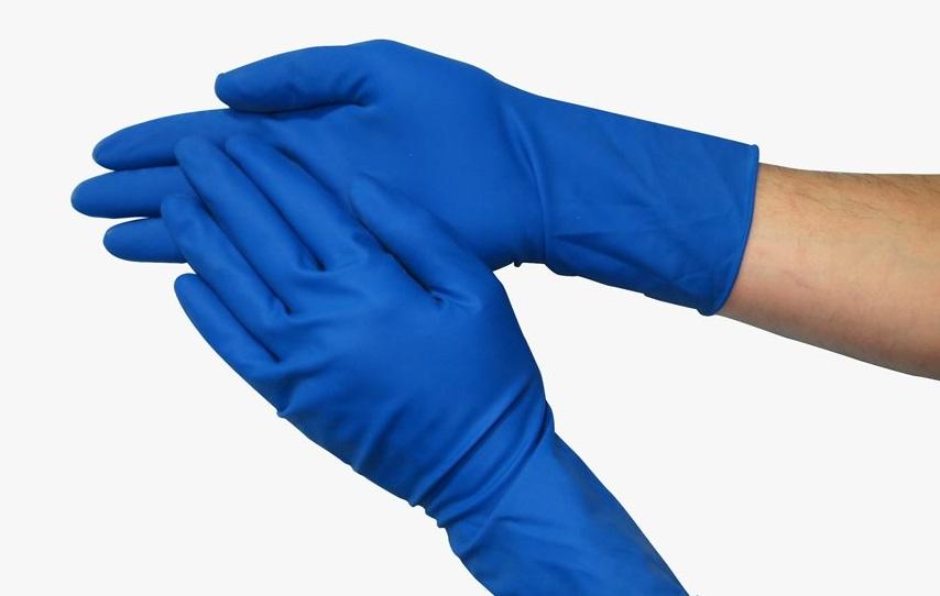 Нитриловые перчатки HR повышенной прочности