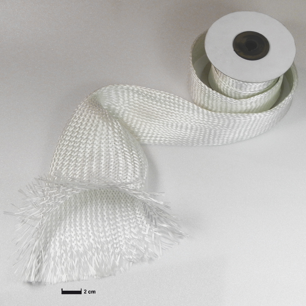 Рукав из стеклоткани Ø 100 мм / Glass fibre sleeve Ø 100 mm