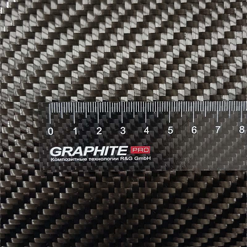 Углеродная ткань 600 г / м² (саржа) 125 см