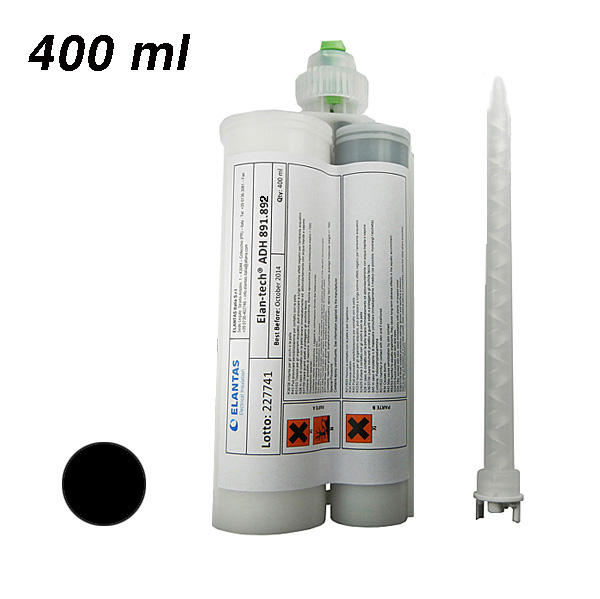 Клей Elan-tech® ADH 891.892 Epoxy adhesive (black), 400 ml