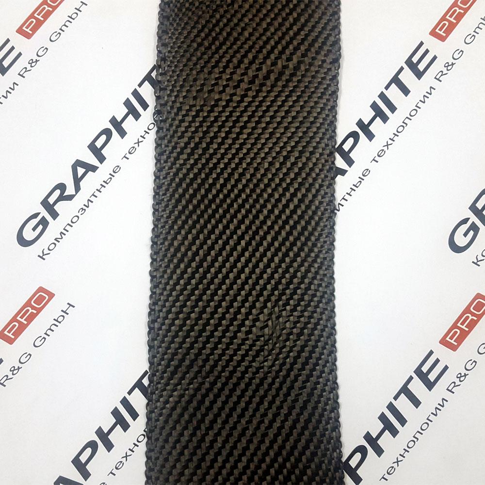 Карбоновая (углеродная) лента ширина 100 мм.
