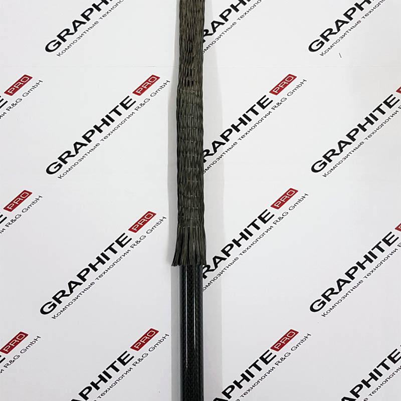 Однонаправленный углеродный рукав 15-30 мм 12к
