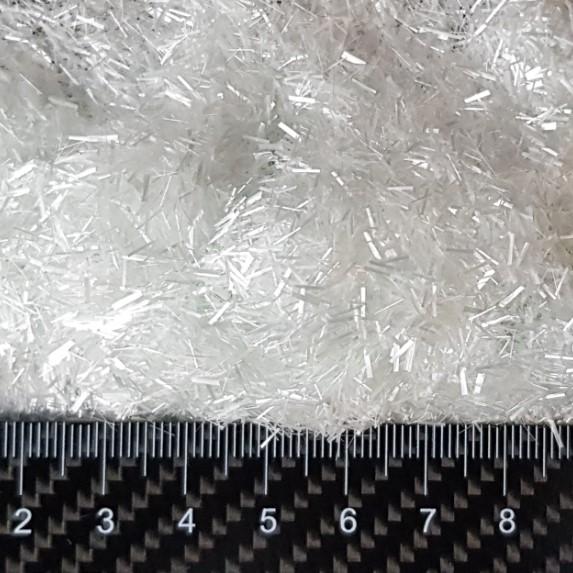 Рубленые нити стекловолокна 4 мм