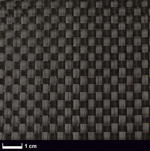 Углеткань Panda (карбон) 400 г/м², плейн