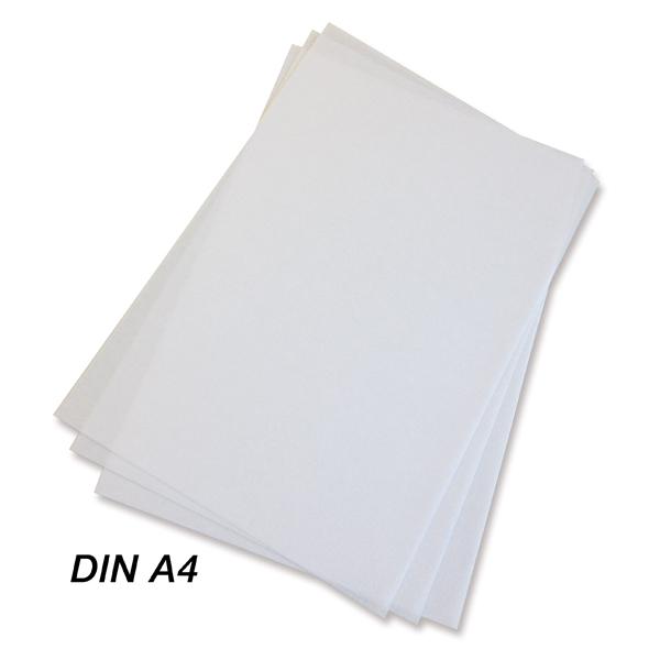 Нетканый материал для печати, белый, формат А4 / Printable non-woven white, DIN A4
