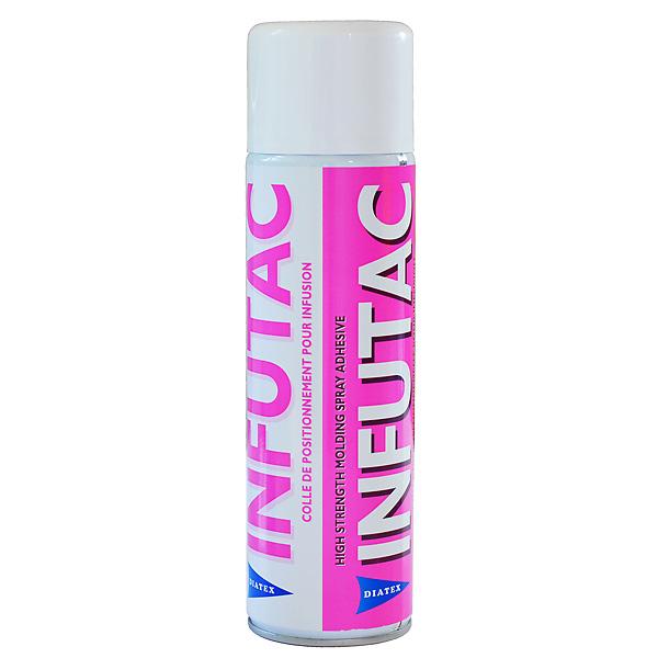 Спрей-клей INFUTAC прозрачный /Spray adhesive INFUTAC CLEAR