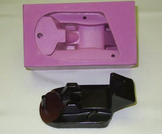 Резина силиконовая фиолетовая для форм Lasil-V