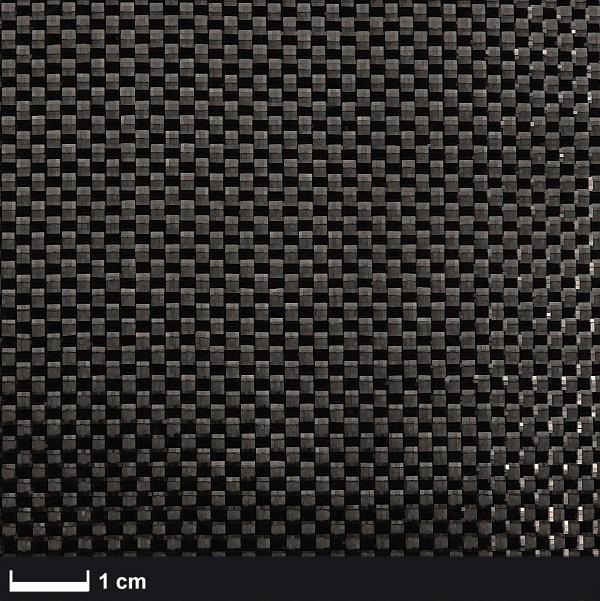 Углеткань (карбон) 200 г/м², плейн / Carbon fabric 200 g/m², plain