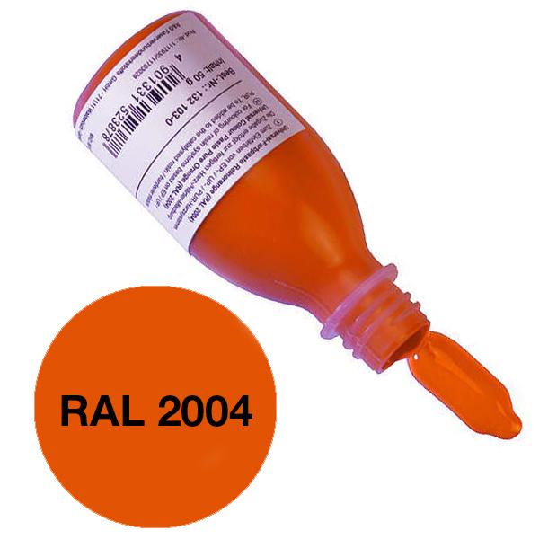 Универсальная паста (колер) «Чистый оранжевый» (RAL 2004)