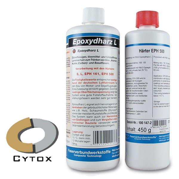 Эпоксидная смола L + отвердитель EPH 500 (60 мин)