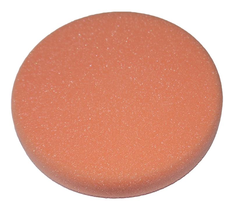 Полировальный круг 150*30 мм, для абразивной пасты (Оранжевый)