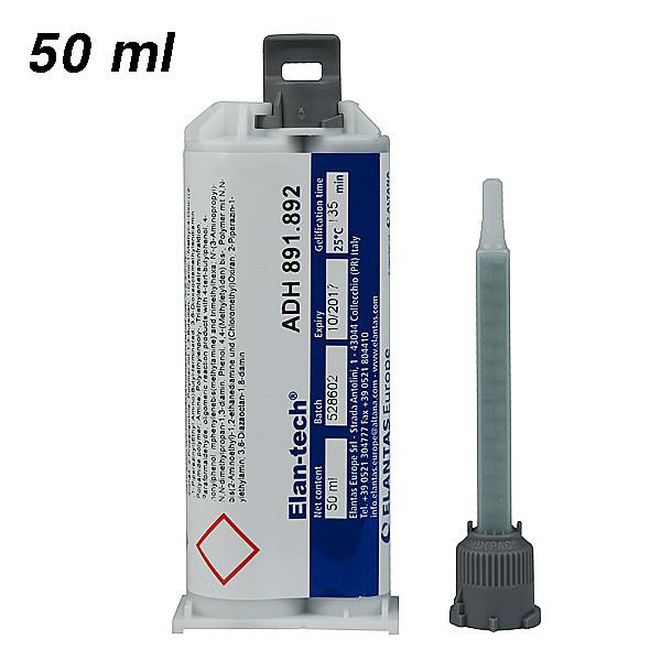 Клей Elan-tech® ADH 891.892 Эпоксидный адгезив (черный), 50 ml